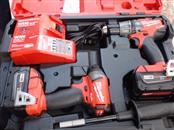 MILWAUKEE TOOL Cordless Drill M18 FUEL COMBO